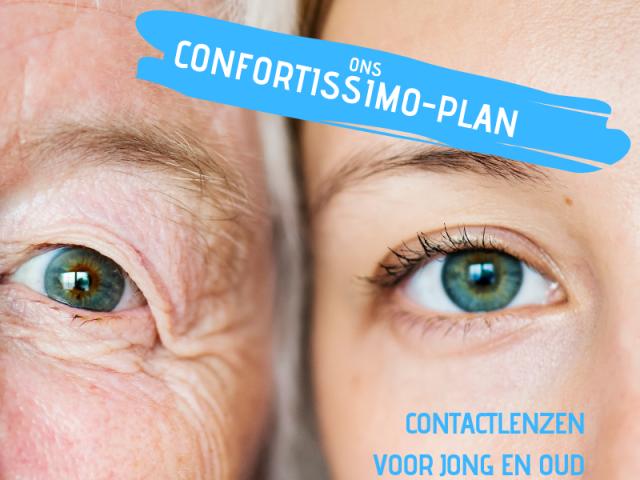 Contactlenzen, voor alle leeftijden, multifocale contactlenzen, eerste paar contactlenzen