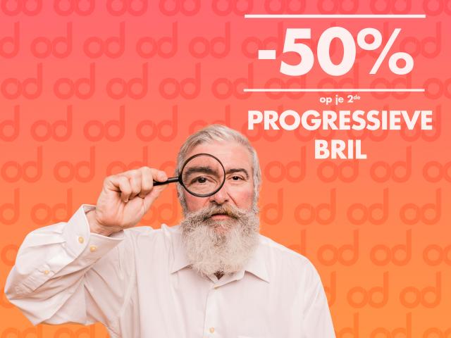 Progressieve brillen met korting