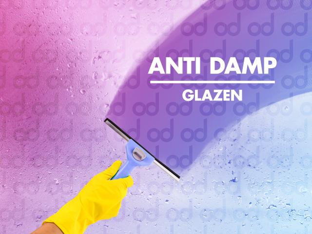 Anti-aandamp glazen, antidamp, dampende glazen,