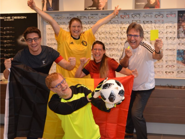 WK 2018, WK voetbal, voetbal, Optiek Dutrannoit, De Rode Duivels, Supporters