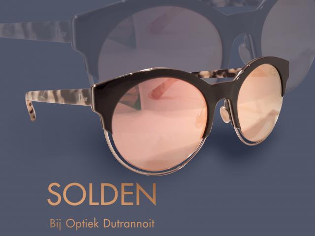 Solden bij optiek dutrannoit. Goedkope monturen. Brillen in korting.