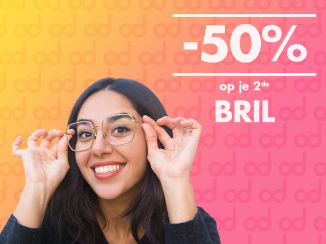 uw tweede bril an de helft van de prijs, korting, optiek, bril, dutrannoit