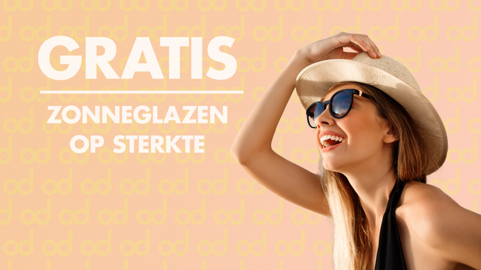 Zonneglasactie, gratis zonneglazen, zonnebril, korting, opticien