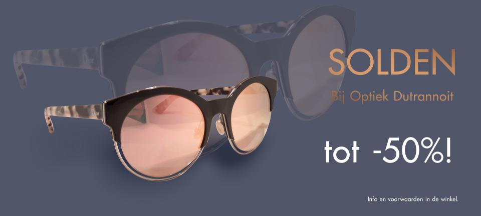 solden, korting, optiek Dutrannoit, voordeel, monturen, goedkoper, sale, deal, brillen